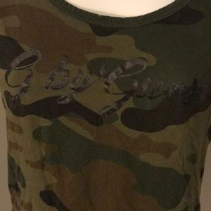 G by guess camoflouge tee